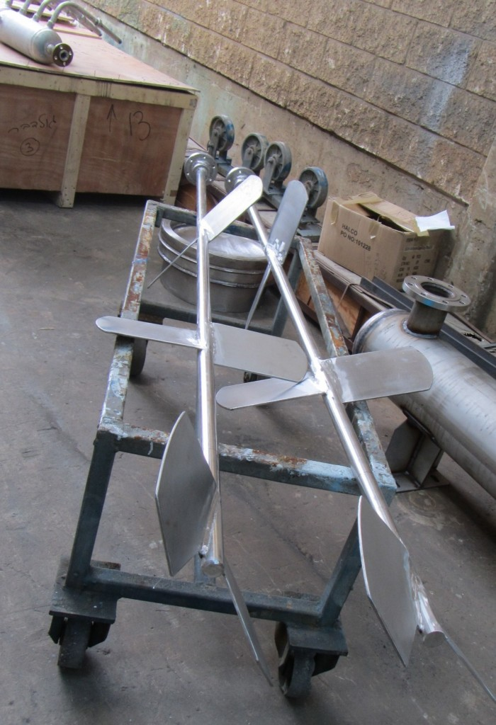 AGITATOR FOR REACTOR  FOR  COMPANY PRODUCING FOOD SUPLEMENTS