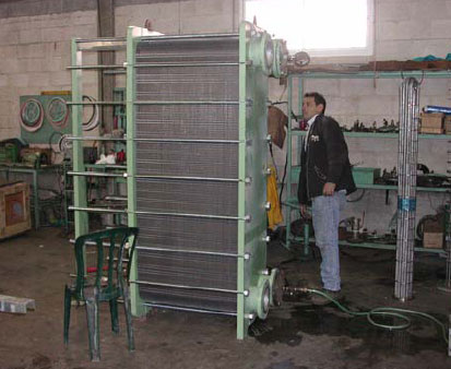 Cooling project plate heat exchanger