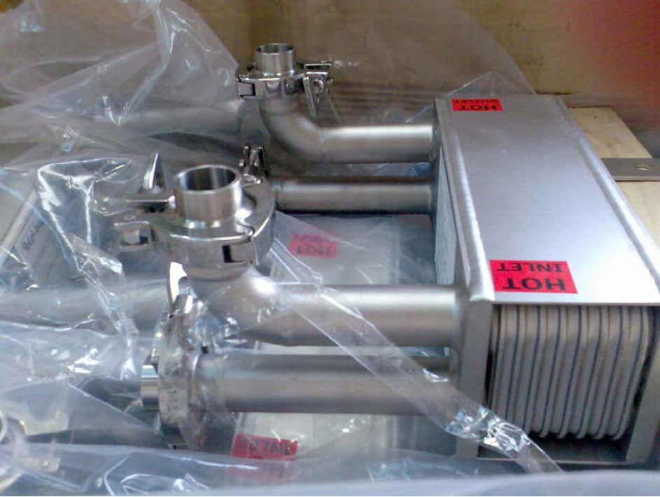 Oil industry welded plate heat-exchanger