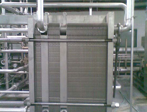 Pasteurizer for diary ice cream or beer