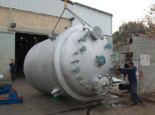 Reactor for the environmental Services Company for hazardous waste treatment