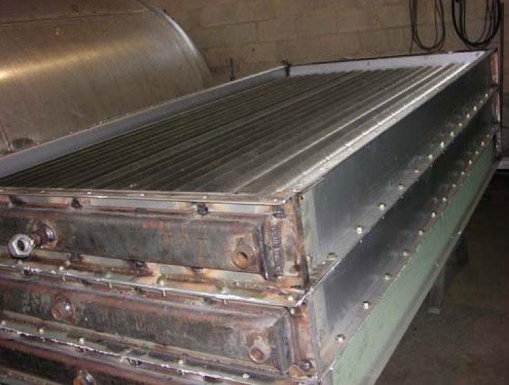 Soya oil industries radiator