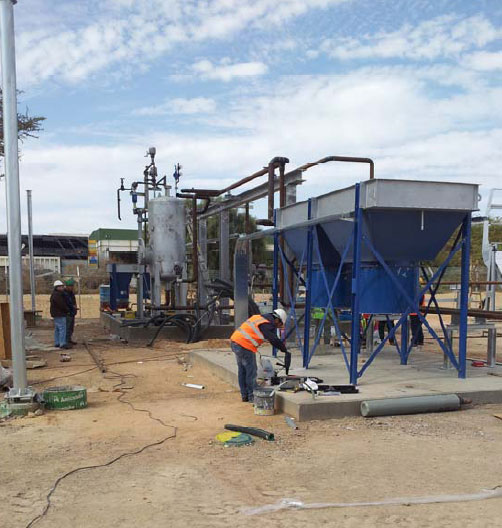 Thermo solar projects