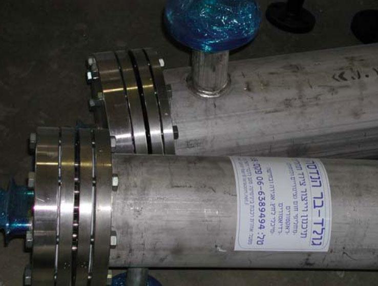 sanitary heat exchanger for pure water pharma