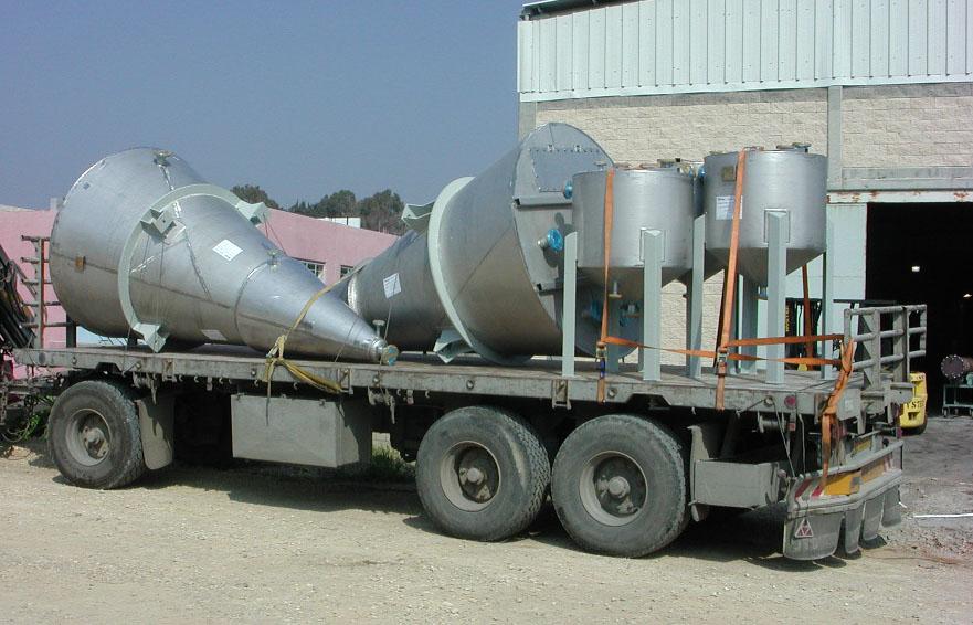vessels for Alga technologies